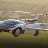 The AirCar made a successful flight between the cities