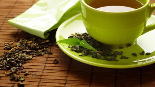 Green tea stimulates the work of our brain