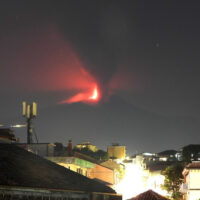 A new eruption of Mount Etna took place in Sicily