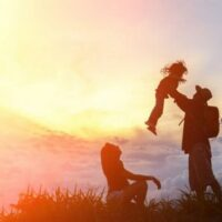 The best raising of a child is peace in the family