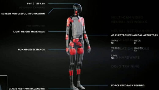 Tesla has opened vacancies for specialists who will develop a humanoid robot