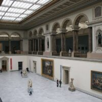 Stressed people in Brussels are granted free museum visits