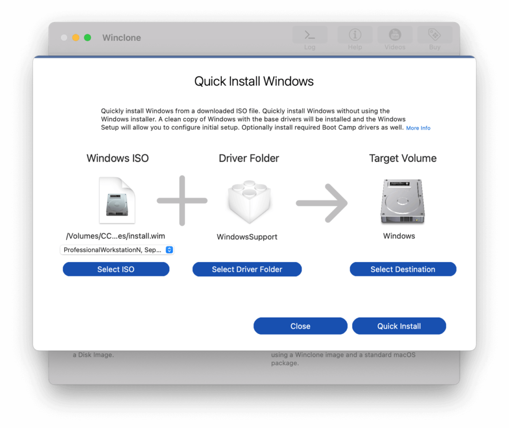 Winclone for Mac gains support for macOS Monterey and Windows 11
